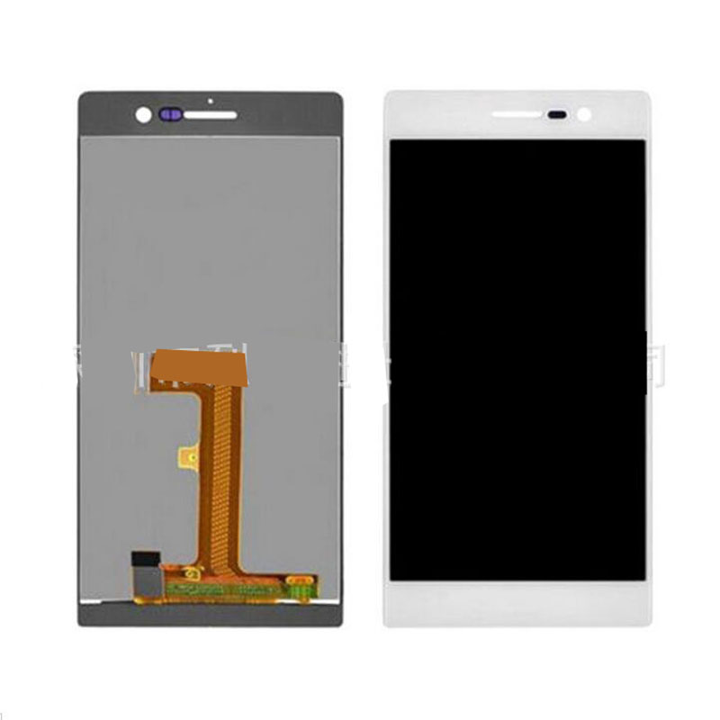 ФОТО New White Touch Screen Digitizer Glass Sensor+LCD Display Panel Screen For Huawei Ascend P7 5.0