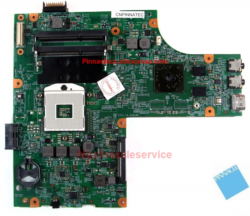 0VX53T VX53T Motherboard For DELL Insprion 15R N5010 48.4HH01.011