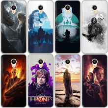 Game Thrones Phone Case Etui For Meizu M6 Note M5S 5C M3s M5 Pro6 U10 U20 16th Coque Daenerys Dragon Jon Snow Tyrion