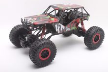 RC Araba 2.4 GHz Kaya Paletli Ralli Araba 4WD Kamyon 1:10 Ölçekli Off-road Yarışı Araç Buggy Elektronik RC Model Oyuncak HB-P1001(China)