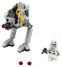 LEPIN Star Wars AT-DP TM Building Block Set AT-DP Driver Minifigures legoe 75130 Compatible