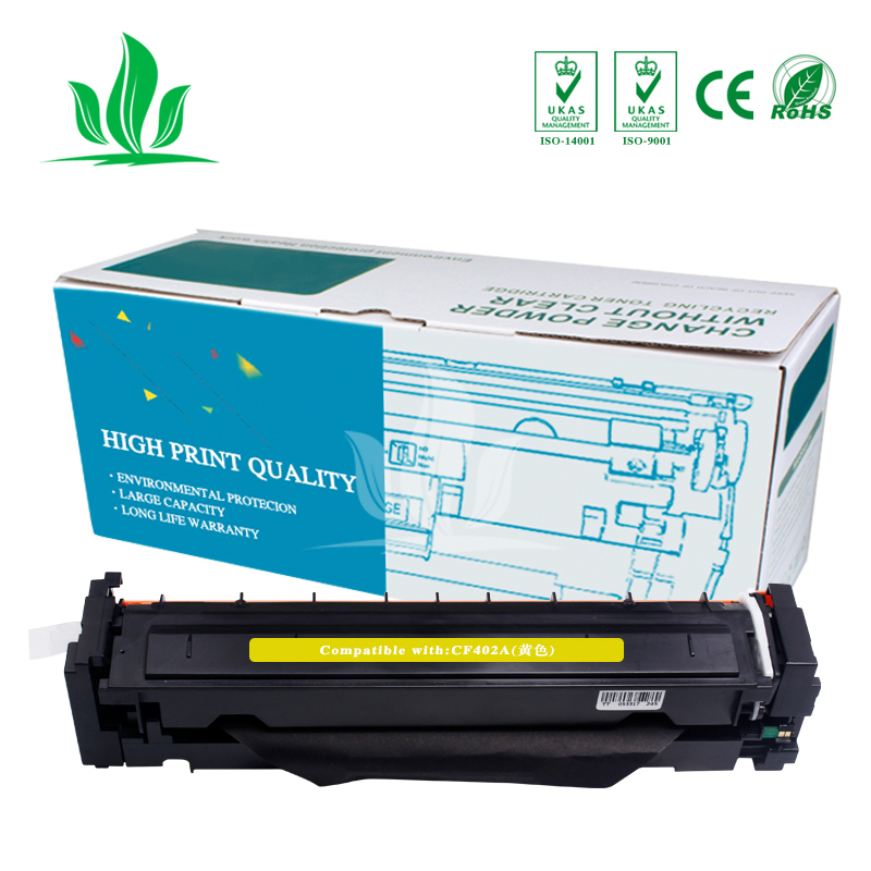 2Y CF400A CF401A 402 403A 201A Compatible Color Toner Cartridge For hp HP Color LaserJet Pro M252dn M252n MFP M277dw M277n M274n