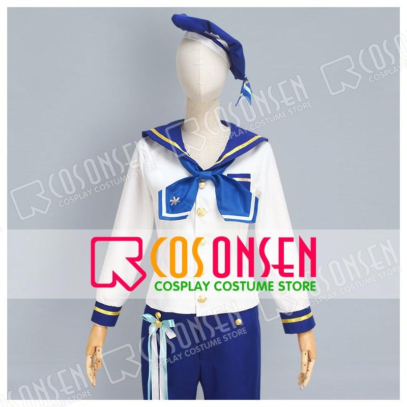 COSPLAYONSEN Ensemble Stars rabits Nazuna Nito Tomoya Mashiro Hajime shino Mitsuru Tenma Sailor Suit Cosplay Costume