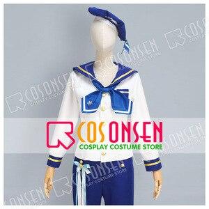COSPLAYONSEN Ensemble Stars rabits Nazuna Nito Tomoya Mashiro Hajime shino Mitsuru Tenma Sailor Suit Cosplay Costume(China)