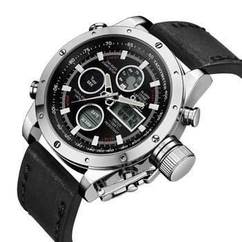 Men's Luxury LED Analog Quartz Watch Men Military Army Watches Sports Man Waterproof Date Clock Relogio Masculino