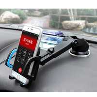 2017 New Universal Phone Holder Car Dashboard Windshield Mount Air Vent Holder Phone Stand for iPhone 7 7 plus 6 6s plus
