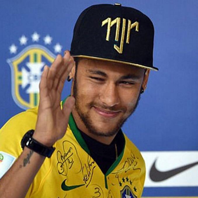 124165e92c8ae Neymar da Silva Santos hat Junior JR njr Brazil Brasil Baseball hip hop  Sports Snapback cap hat Men Women