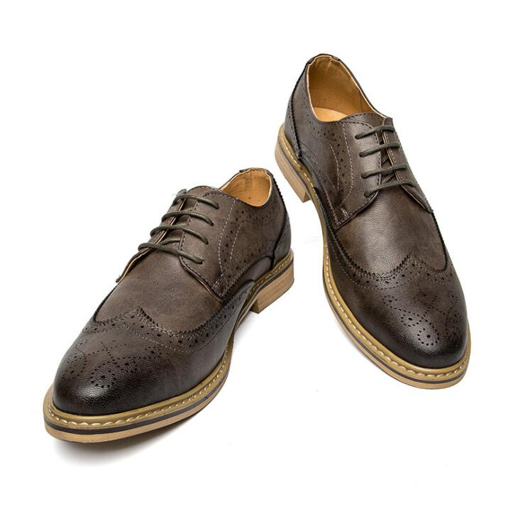 2019 Formal Shoes Men Pointed Toe Men Dress Shoes Leather Men Oxford Formal Shoes For Men Fashion Dress Footwear 38-452019 Formal Shoes Men Pointed Toe Men Dress Shoes Leather Men Oxford Formal Shoes For Men Fashion Dress Footwear 38-45