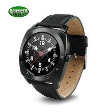 จัดส่งฟรีบลูทูธsmart watchหนังที่มีคุณภาพสูงเข็มขัดm ontre retgtu 88เชื่อมต่อสำหรับa ndroidการควบคุมเสียง