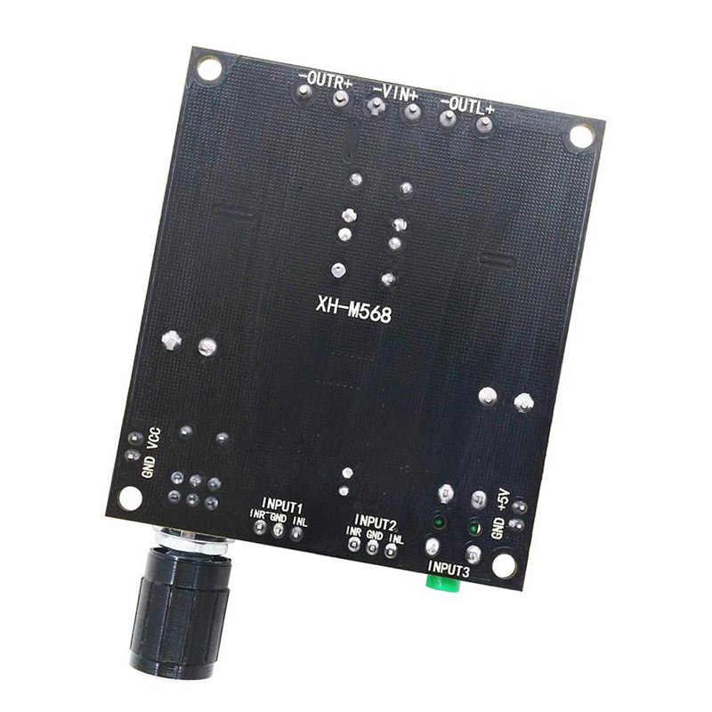 TPA3116D2 аудио Плата усилителя класса D 50WX2 цифровой TPA3116 дома Театр AMP DIY Динамик Мини Доска DC12-24V