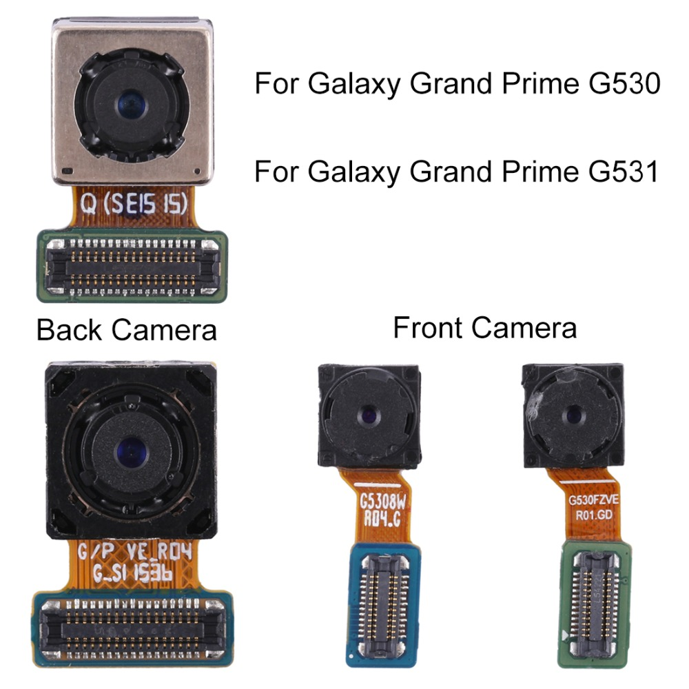 High Quality Camera Replacement For Galaxy Grand Prime G530 / G531 Front Facing Camera Module / Rear Camera Module