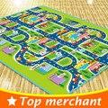160 CM Crianças Brincam Esteira Do Jogo Do Bebê Tapete Crawling Mat Crianças jogar Crianças Tapete Tapetes E Carpetes de Tráfego Da Cidade Crianças Brincam Tapete PX24S