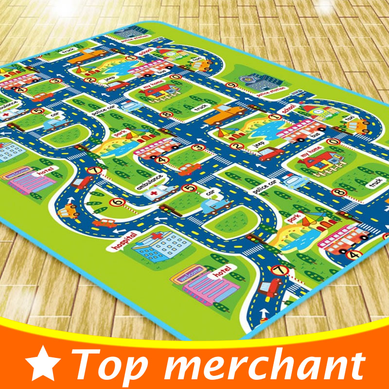 160cm kids play mat baby play floor mat crawling mat children play carpet kids rugs and carpet. Black Bedroom Furniture Sets. Home Design Ideas