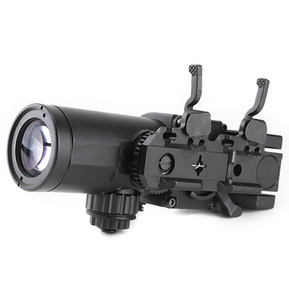 SPINA Tactical Rifle Scope QD 1X-4X optical sight Adjustable Dual Role Sight