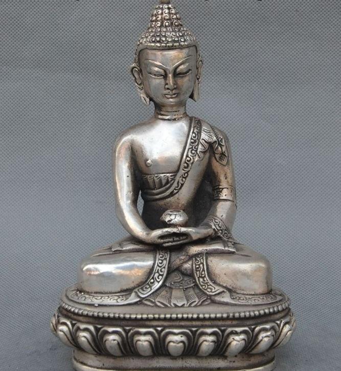Il vecchio Tibet Buddismo Fane Joss sakyamuni Shakyamuni Tathagata Statua di BuddhaIl vecchio Tibet Buddismo Fane Joss sakyamuni Shakyamuni Tathagata Statua di Buddha