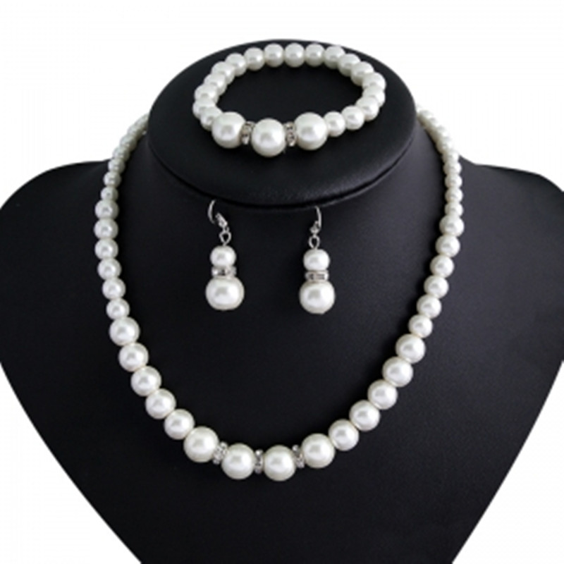 Imitation Pearl Necklace...