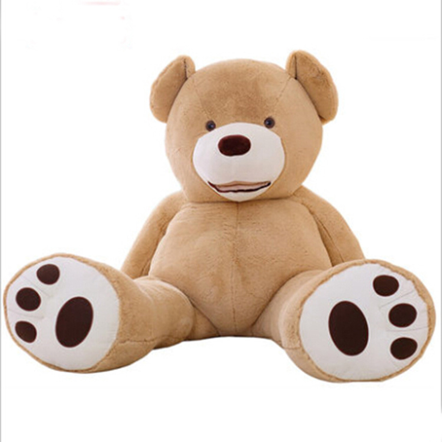 260cm Giant Teddy Bear Doll Stuffed Animals Plush Toys Large Hug Bear Kid Big Toy Birthday Children Gifts 50T0552 fancytrader big giant plush bear 160cm soft cotton stuffed teddy bears toys best gifts for children