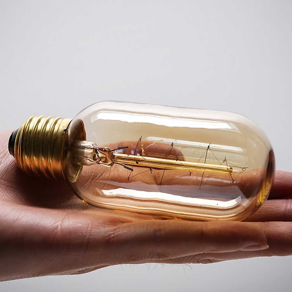 Retro Edison żarówka E27 220 V 40 W ST64 A19 A60 G80 G95 T10 T45 T185 żarnika ampułki żarowe żarówki lampa Edison w stylu vintage