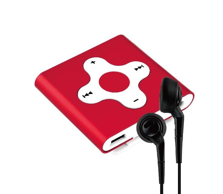 qinkar 4 гб мини спорт на MP3-плеер клип крест кнопки металлический корпус идеально подходит для активных любителей музыки движение медиа плеер