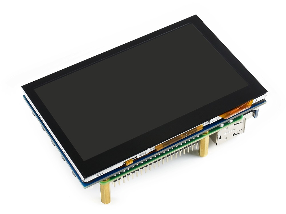 Image 5 - 4.3inch Capacitive Touch Screen IPS LCD HDMI interface Supports Raspberry Pi BB Black Banana Pi Multi mini PCs Multi Systems etc-in Demo Board from Computer & Office