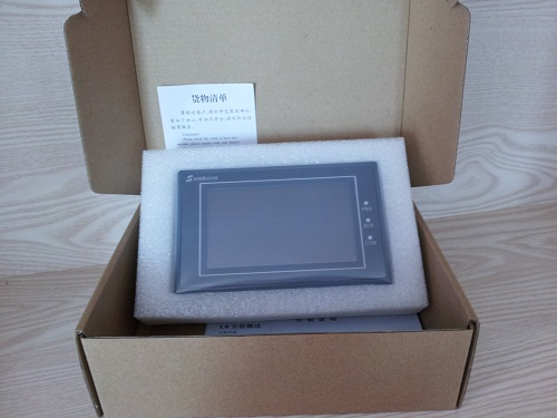 SAMKOON HMI Touch Screen SA-4.3A 4.3 inch 262 144 Color TFT New 1COM with Free Cable & Software brand new tk6070ip 7 inch hmi touch screen with cable