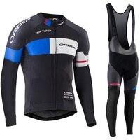 Orbea 2017 Cycling Jerseys Thin Long Sleeves Cycling Set Ropa Ciclismo Bike MTB Clothing Pants Suit