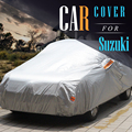 Авто Крышка Открытый Anti UV Вс Снег Дождь Стойкие Покрытия для Suzuki Alto С-Кросс Alivio APV SX4 Grand Vitara Esteem Forenza
