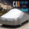 Tampa Do Carro Auto Tampa Ao Ar Livre Anti UV Sun Chuva Neve Resistente para Suzuki Alto S-Cross Alivio Estima Forenza Grand Vitara SX4 APV