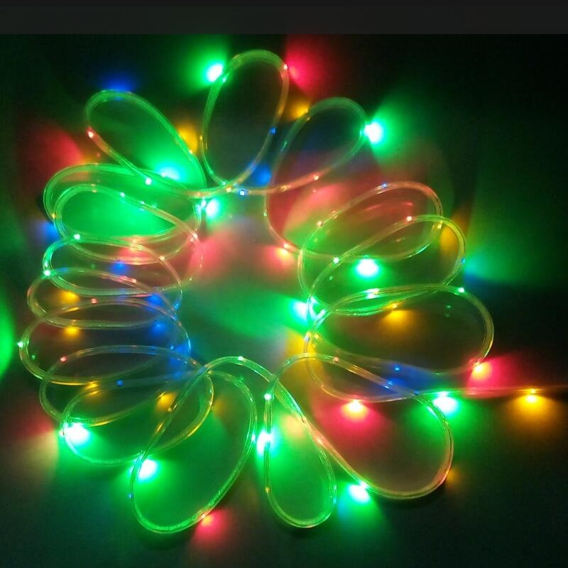 200led 10m solar powered led flexible strip lights outdoor solar 200led 10m solar powered led flexible strip lights outdoor solar fence post led rope light garden decoration tree yh w01 1set in solar lamps from lights aloadofball Image collections