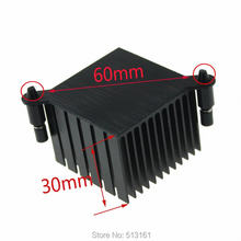 Радиатор охлаждения для корпуса ПК 10 шт 38x38x30 мм