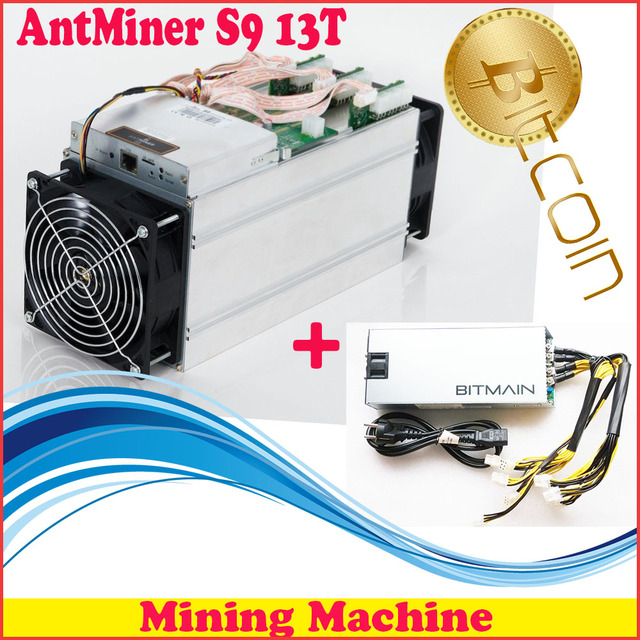 FREE SHIPPING FIREPANGS AntMiner S9 13T Bitcoin Miner Asic Newest 16nm Btc With 1600W