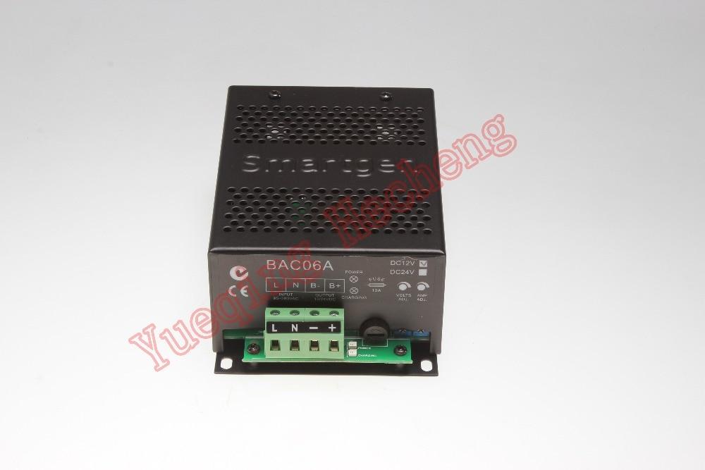 Nouveau chargeur de batterie Smartgen BAC06A-12 V & 24 VNouveau chargeur de batterie Smartgen BAC06A-12 V & 24 V