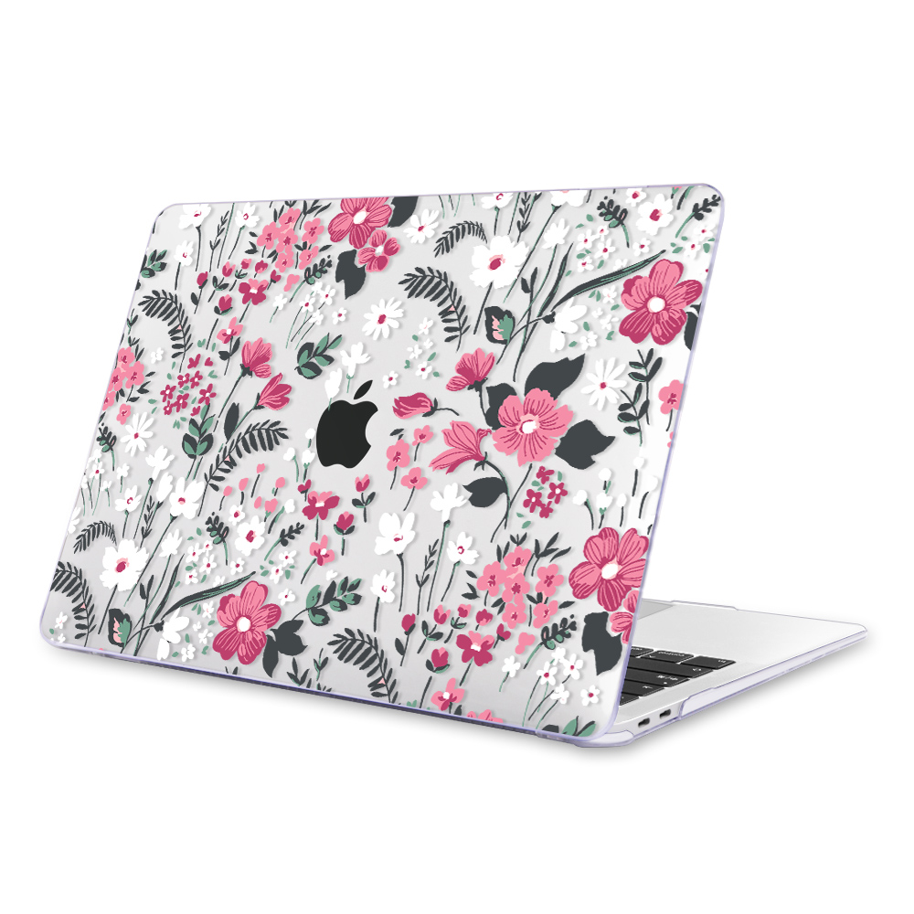 Redlai Colorful Flowers Case for MacBook 37