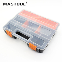Big Toolbox Electronic Plastic Parts Combined Transparent Tool Box Casket SMD SMT Screw Containers Component Storage