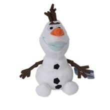 23 см Плюшевые игрушки в виде Олафа Kawaii снеговик мультфильм плюшевые игрушки Эльза Кукла Мягкие игрушки Brinquedos Juguetes подарок для детей