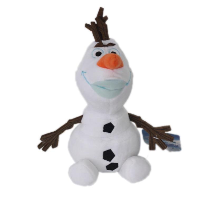 23cm Olaf Plush Toys Kawaii Snowman Cartoon Plush Toys Elsa Doll Soft Stuffed Toys Brinquedos Juguetes Gift For Kids Gift