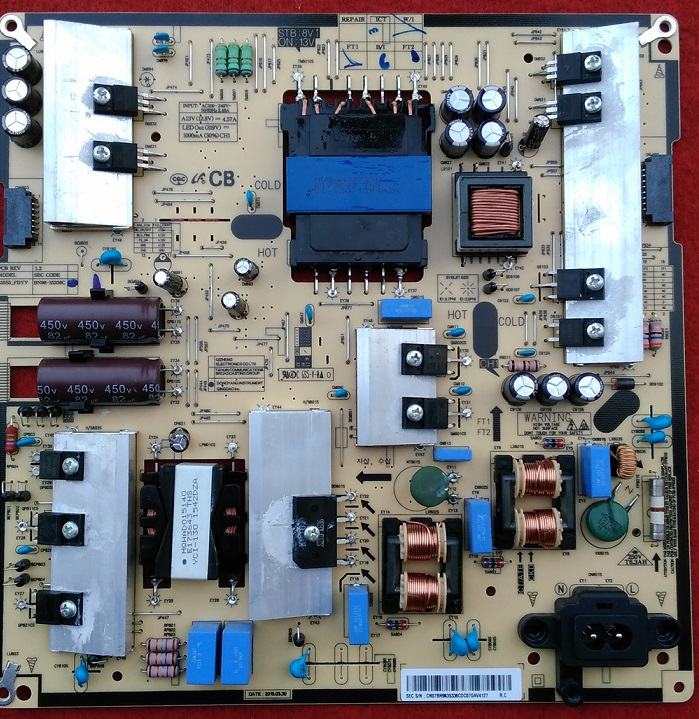 UA48JU5920JXXZ power panel L55S5-FDYV BN96-35336C is used 2116 s g916w g2216w h2216w tft22w90ps power panel used disassemble
