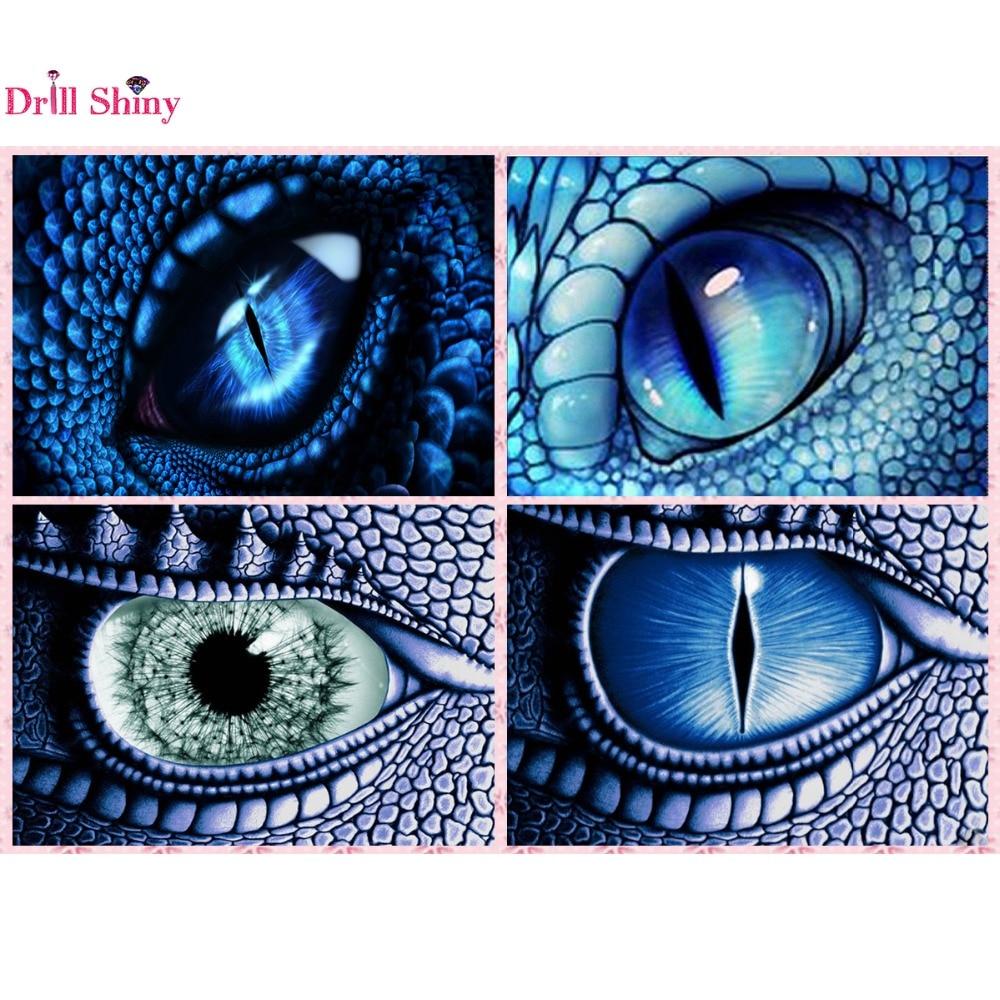 5D Kit de ojo de dragón de pintura de diamante