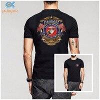 Fashion USMC US Marine Corps T Shirt Mens Erazor Bits Military 100 Cotton Short Sleeve O