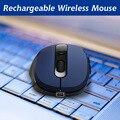 Recargable Wireless Optical mouse Gaming silencio clic Del Ratón Para El Ordenador Portátil PC Computer Optical Mouse Ratones de Ordenador ratón ergonómico