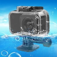 PULUZ For Xiaomi Mijia Camera Case IP68 Professional 40m Underwater Waterproof Housing Protective Case For Xiaomi