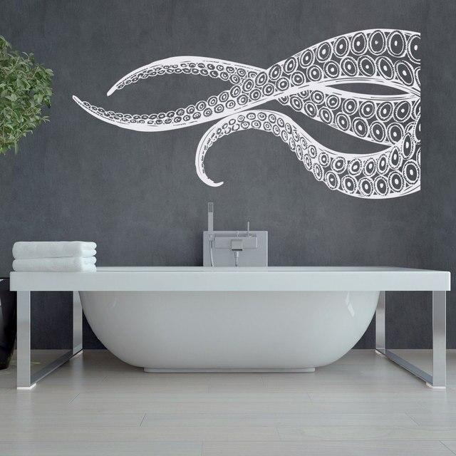 Riesige Octopus Tentakeln Wandaufkleber Aufkleber Für Badezimmer ...
