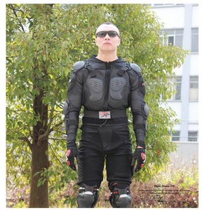 Image 5 - Motorcycle Jacket Armor Winter Jacket Men Shatter Resistant Racing Full Body Protector Polyester Outdoor Riding Gear Clothing