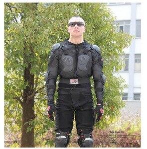Image 5 - Motorrad Jacke Rüstung Winter Jacke Männer Shatter Beständig Racing Full Body Protector Polyester Outdoor Reiten Getriebe Kleidung