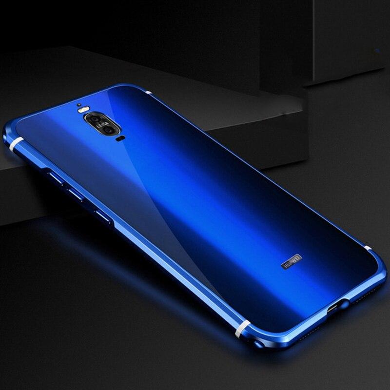bilder für Huawei Taube 9 pro fall aluminiumlegierung metallrahmen + Acryl rückseitige abdeckung für Huawei Taube 9 pro fällen