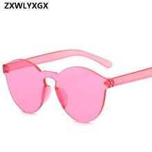 New Fashion Women Flat Sunglasses