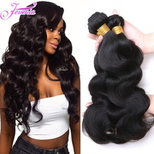 hot deal buy jessenia human hair bundles 100% remy hair weaves brazilian hair body wave bundles 4pcs/lot natural color 8-30 inch double weft