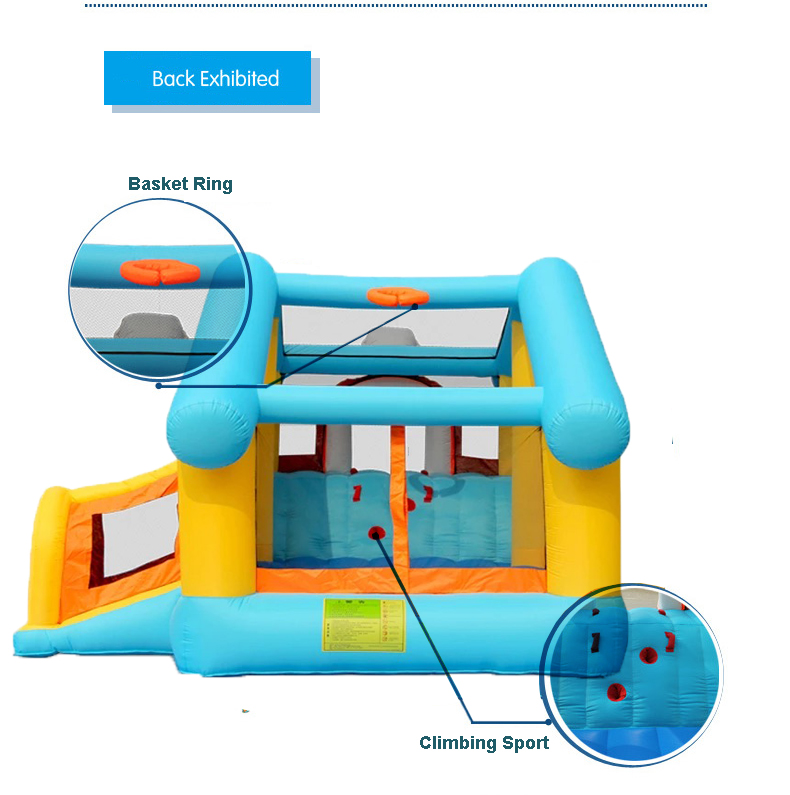 HTB1XcalPFXXXXcsXVXXq6xXFXXXh - Mr. Fun Kids Dog Bouncy Inflatable Bounce House Big Slide Combo with Blower