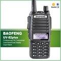 Tri Original Poder 8 W/4 W/1 W 128CHS VHF UHF 136-174/400-520 MHZ UV-82plus Dupla PTT BAOFENG Rádio Em Dois Sentidos