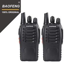 2PCS  Baofeng bf-888S Walkie Talkie Portable Radio Hotel Communicator Transceiver Cb Radio 888S 2-way Radio
